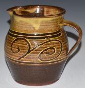 Winchcombe Pottery jug by Sydney Tustin, H14cm