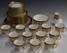 Approximately forty pieces Wedgwood Imari tea ware, pattern no Y1893