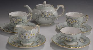 Aynsley Tea for Two decorated with daisies