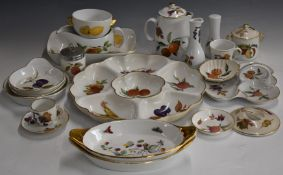 Approximately forty pieces of Royal Worcester Evesham dinner ware