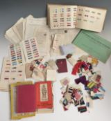 Large collection of medal ribbons / pieces from around the world including Belgium, Morocco,