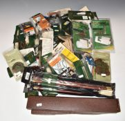 A collection of shotgun, rifle and air rifle cleaning and restoration kit including Parker-Hale