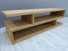 Modern coffee table bought from John Lewis W120 x D40 x H36cm