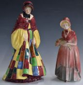 Royal Doulton figurine 'The Parsons Daughter'HN564,plus one other