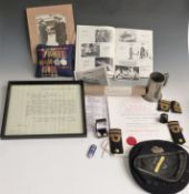 Royal Navy medals and ephemera relating to Francis Henry Brockington including WW2 medals