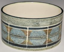 Troika large dish with 'Troika Cornwall' and AX monogramto base, D15 x H9cm