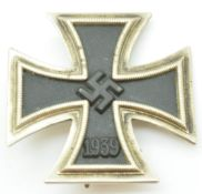 German WW2Third Reich Nazi Iron Cross with pin back attachment
