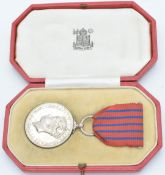 WW2 Plymouth Blitz George Medal awarded to John Kerr M.M, with box and research paperwork. The