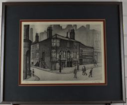 After Laurence Stephen Lowry RBA RA (1887-1976) Great Ancoats Street, signed limited edition (835/