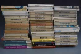 Collection of Observer's automobile books, including 1955 first edition, together with various