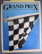 Signed book Grand Prix by Michael Joseph, covering the last 30 years, autographed throughout by