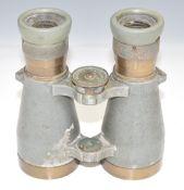 WW1 German binoculars Fernglas 08 number 45728 by C P Gofrz, Berlin