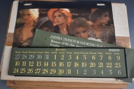Sixteen Pirelli calendars comprising 1972 x5, 1973 x4, 1986, 1990, 1991, 1992 x2, 1995 and 1996, all
