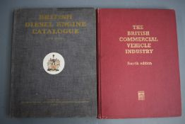 British Diesel Engine Catalogue 1961 fifth edition, showing installation and details of many