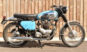 1960 AJS Model 31 CSR 650cc twin motorbike, non transferable registration number XER 430, with