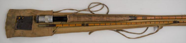 Hardy Brothers Palakona Perfection split cane trout fishing rod