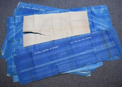 Railway and similar interest blueprints, many stamped Horsehay Company Limited, drawings include
