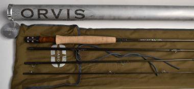 Orvis Recon 9' 5WL fly fishing rod in original aluminium tube