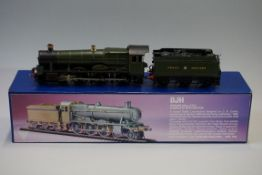 A DJH K56 'OO' gauge GWR 4-6-0 4900 Class 'Blakelsey Hall' locomotive 4909 and Collet 4000g