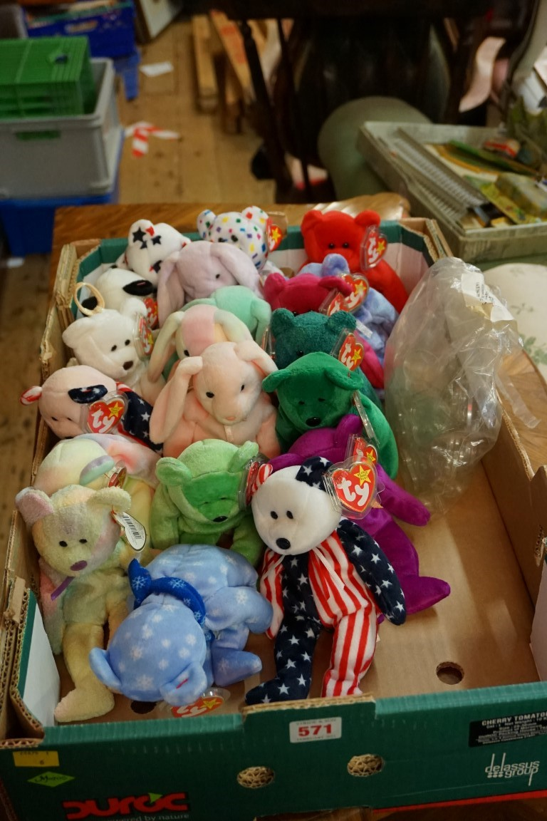 Twenty Ty 'Beanie Babies', each with tag. (20) - Image 5 of 5