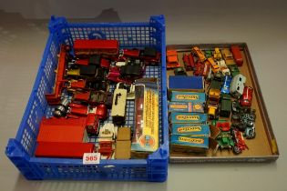 A Collection of Matchbox, Lesney and other similar vehicles. (qty)