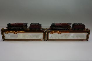 Two Mainline 'OO' gauge LMS 4-6-0 locomotives, comprising: 37-061 Jubilee Class 'Leander' 5690 and