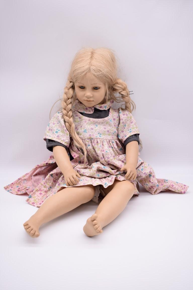 An Annette Himstedt 'Ellen' doll.