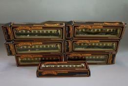 Seven Mainline 'OO' gauge GWR coaches, each in original box. (7)