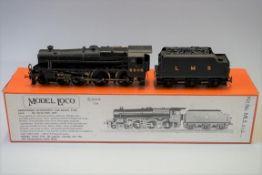 A DJH 'OO' gauge LMS 4-6-0 Black Five locomotive 5305 and tender, in original Model Loco Ltd box.