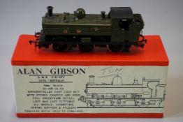 An Alan Gibson 'OO' gauge GWR 0-6-0 57xx Class pannier tank locomotive 5700, in original box.