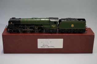 A DJH 'OO' gauge BR 4-6-2 Peppercorn A1 Class 'Great Central' locomotive 60156 and tender.