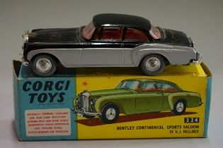 A Corgi 224 'Bentley Continental Sport Saloon', boxed.