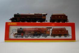 A Hornby R2313 'OO' gauge LMS 4-6-2 Princess Royal Class 'Princess Louise' locomotive 6204 and