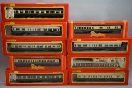 Nine 'OO' gauge GRW coaches, each in Hornby box. (9)