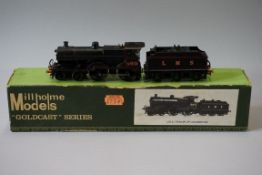 A DJH 'OO' gauge LMS 4-4-0 Fowler 2P Class locomotive 569 and tender, in original Millholme Models