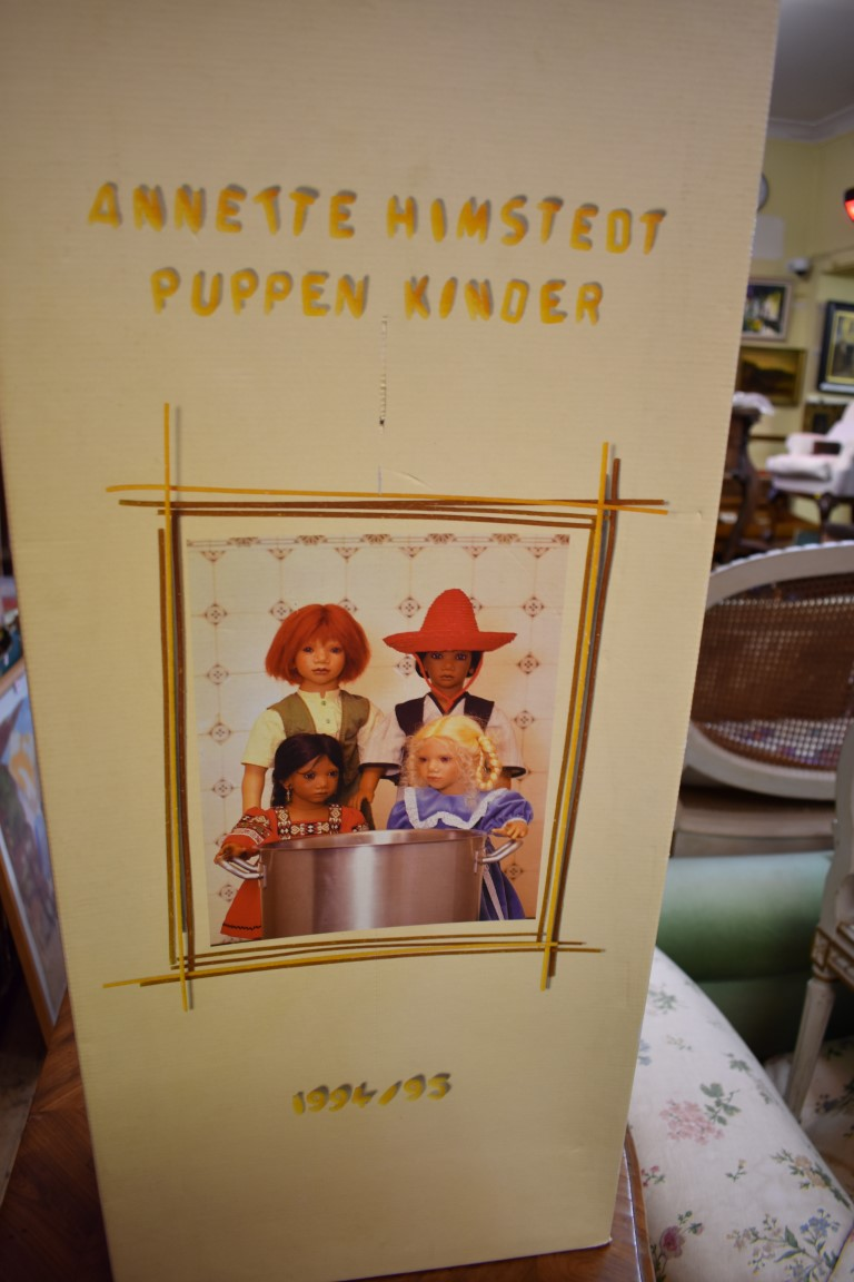 An Annette Himstedt 'Melvin' doll, boxed with certificate. - Image 4 of 5