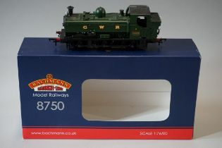 A Bachmann 32-208A 'OO' gauge GWR 0-6-0 8750 Class pannier tank locomotive 9635, in original box.