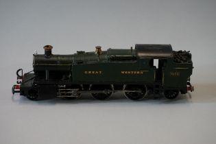 A metal 'OO' gauge GWR 2-6-2 61xx Class 'Large Prarie' locomotive 6139.