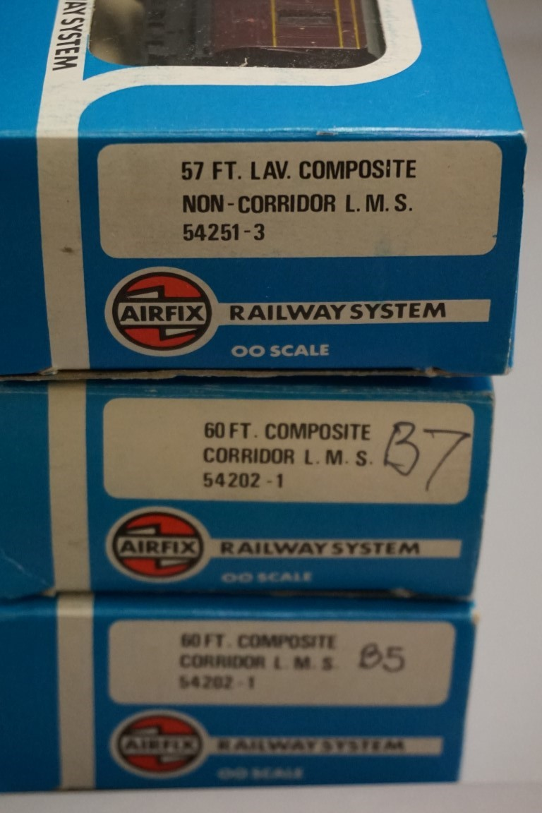 Six 'OO' gauge LMS coaches, each in Airfix box. (6) - Image 6 of 7