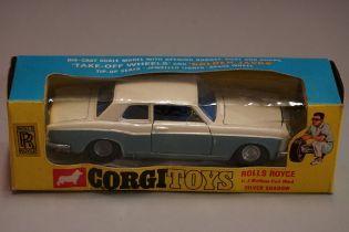 A Corgi 273 'Rolls Royce Silver Shadow', boxed.