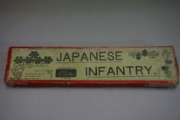 A Britain's set 134 'Japanese Infantry', boxed; together with four King & Country 'Colonial Hong