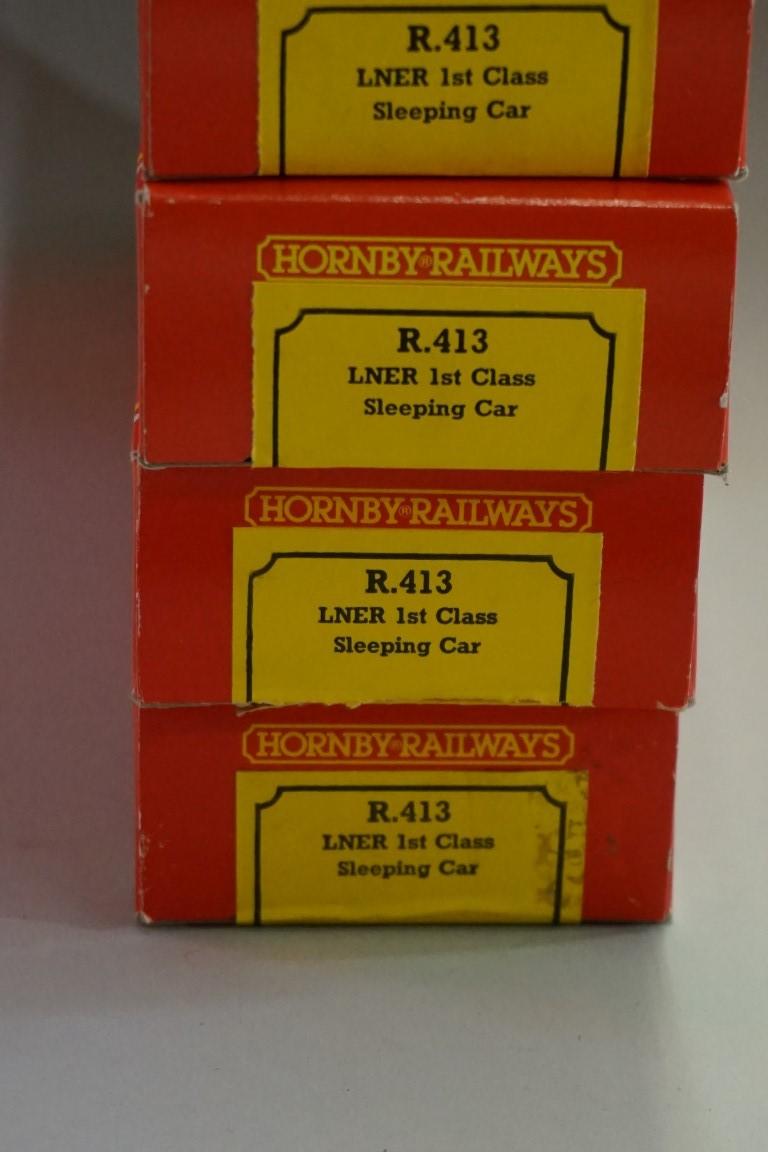 Eight Hornby 'OO' gauge LNER sleeping coaches, each in original box. (8) - Image 10 of 10