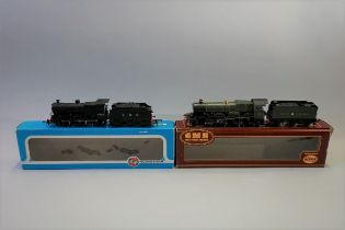Two metal 'OO' gauge locomotives, comprising: Hornby GWR 4-6-0 'Tintagel Castle' 5011 and plastic