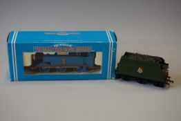A Hornby 'OO' gauge R351 'Thomas Tank Engine', boxed; together with a metal BR tender. (2)
