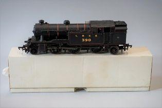 A metal 'OO' gauge LNER 2-6-2T V3 Class locomotive 390.