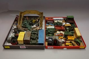 A collections of Lesley, Lledo, Britains and other similar diecast models. (qty)