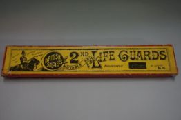 A Britains set 43 '2nd Life Guards', boxed.