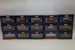 Fifteen Bachmann 'OO' gauge wagons, each in original box. (15)
