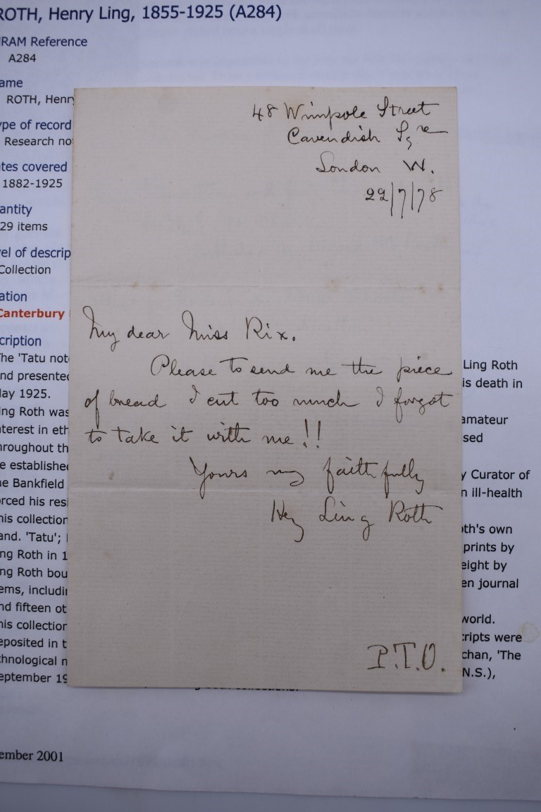 LETTERS:a collection of 20 items, largely letters late 19th-earlier 20thc, to include short one - Image 5 of 26