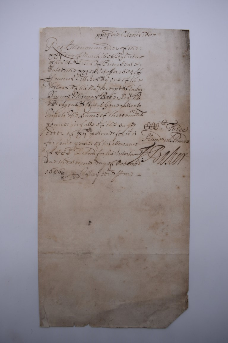 MANUSCRIPT DOCUMENTS, 17TH & 18THC:a group of 6, to include 34 line witness account of an assault - Image 3 of 11